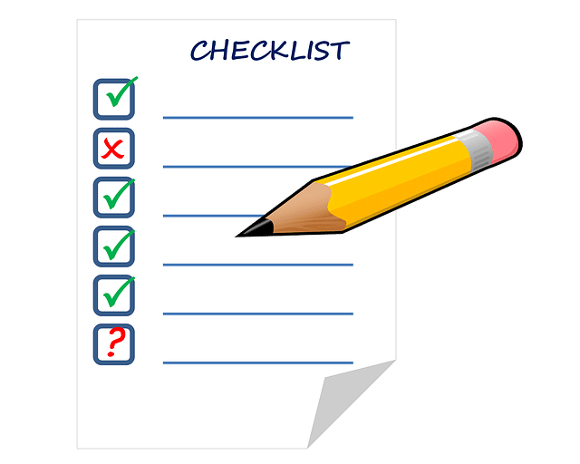 Checklist pour brief
